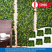 Combo 6 Jardines Verticales Bosque Tropical Artificial