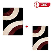 Tapete Shaggy Circle 160x230 cm Rojo Gratis Tapete Shaggy Circle 120x170 cm Rojo Home Collection