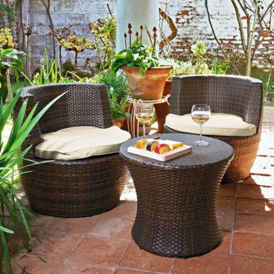 Muebles de exterior sillas comedores y m s para tu jard n y terraza for Juegos de jardin rusticos