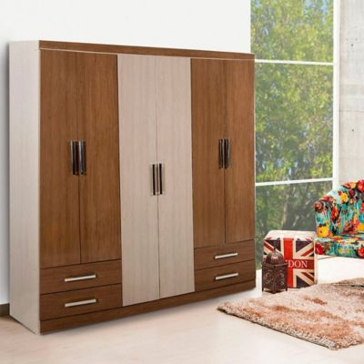Muebles para dormitorio homecenter for Closet medianos modernos