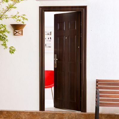 Puertas de entrada puertas exterior homecenter for Modelos de puertas metalicas para exteriores