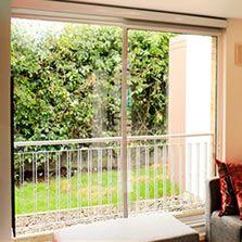 Puertas ventanas patio/balcón