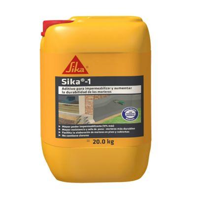 Sika-1 20kg Impermeabilizante Integral Para Morteros