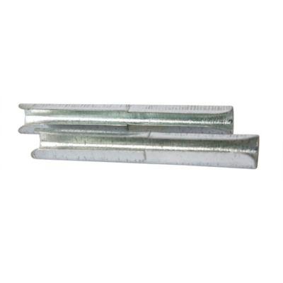 Set x 2 Uniones Tubo Metal 3/4 Pulgadas