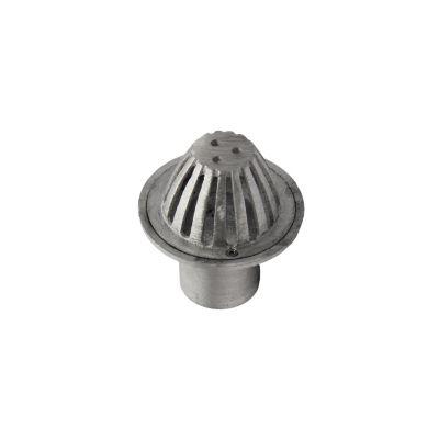 Rejilla c 4 x 2 aluminio cúpula