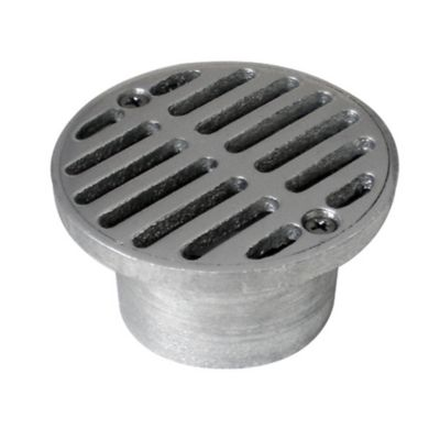 Rejilla s 3 x 2 aluminio sifón