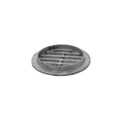 Rejilla 3,1/2 aluminio plana