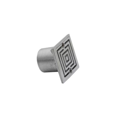 Rejilla lc6 x 6 x 11/2 aluminio poceta