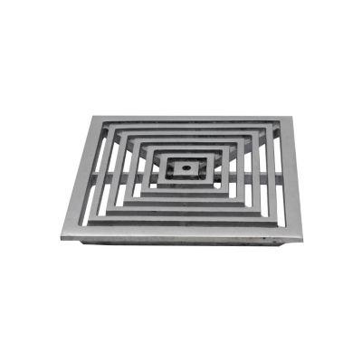 Rejilla pc20x20 aluminio plana