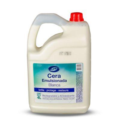 Cera emulsionada neutra canela 4 litros