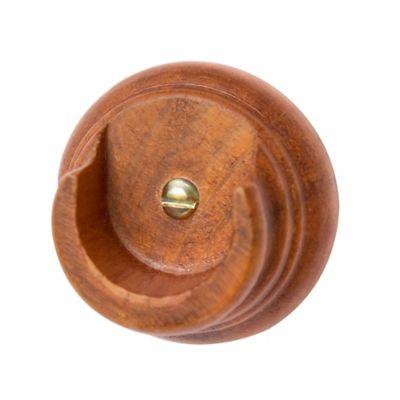 Plafón madera en u caoba 1-1/4 pulgada x 1 unidad