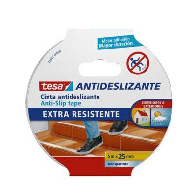 Cinta Antideslizante Transparente 5M x 24mm