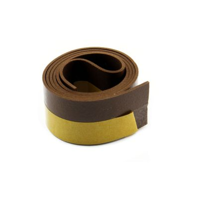 Burlete Marron Puerta PVC 38mm x 1m