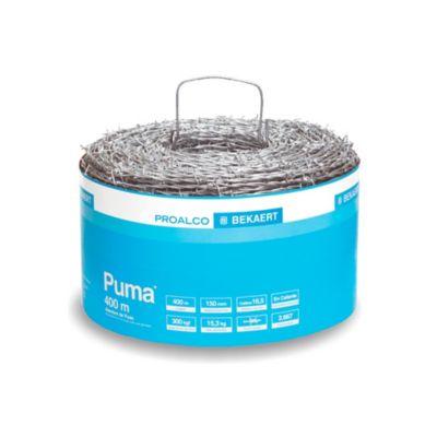 Alambre de Púa Calibre 16.5 x 400mt 15.3kg Puma
