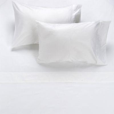 Juego de Sábanas Extradoble 320 Hilos 100% Algodón Blanco