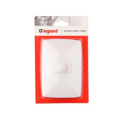 Dimmer Sencillo 300w Blanco