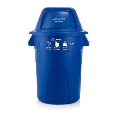 Contendor Elite Tempo Plástico/Azul 121lt