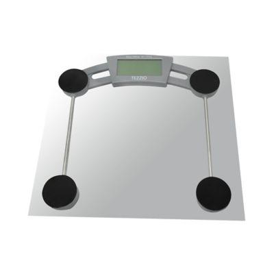 Báscula digital en vidrio
