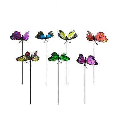 Estaca mariposa alambre grande