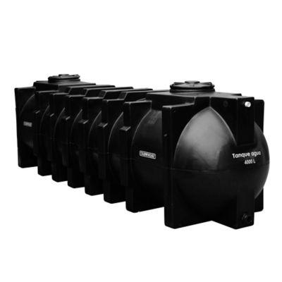 Tanque 4.000 Litros Agua Horizontal Subterráneo