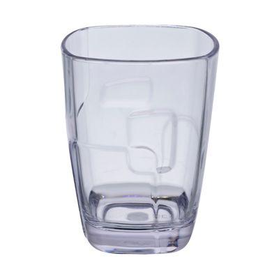 Vaso 300ml corto pop acrílico transparente