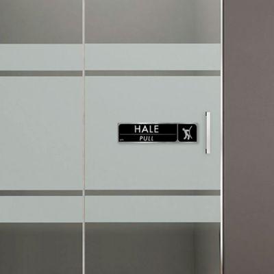 Señal Brillante Hale 20x5cm