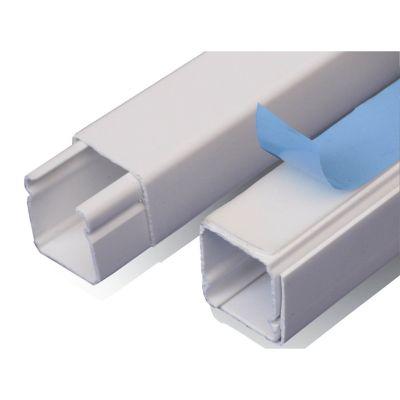 Canaleta de Superficie Dexson, Blanca, 20x20, con Adhesivo