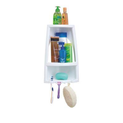 Organizador esquinero ducha blanco