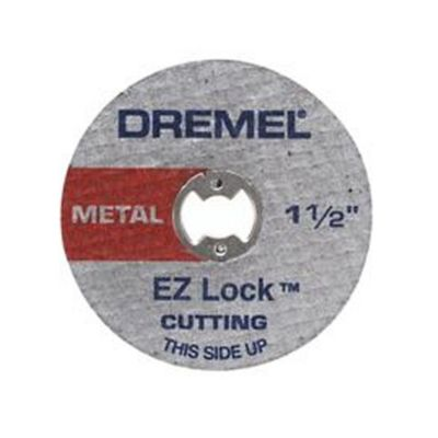 Set Disco de Corte Metal EZ456 1 ½-pulg (38mm) Acople Rápido x 5und