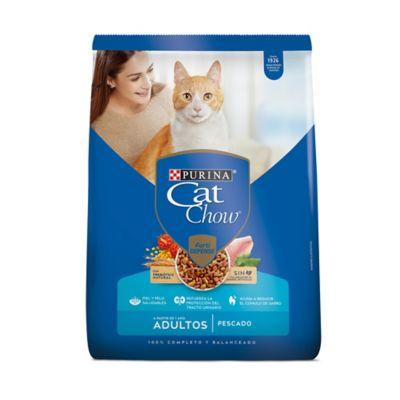 Alimento Para Gatos Cat Chow Adulto Pescado X 8 Kg