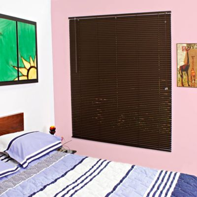 Persiana PVC 180x180 cm Chocolate