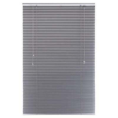 Persiana Aluminio 120x165 cm Plata