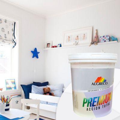 Pintura para Interior 5 Galones Blanco Premium