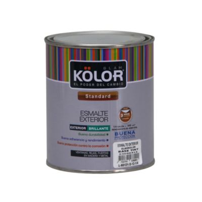 Base tint esmalte exterior 1/4 galón