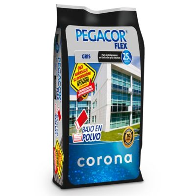 Pegacor Corona Flex Exteriores Gris 25 kg
