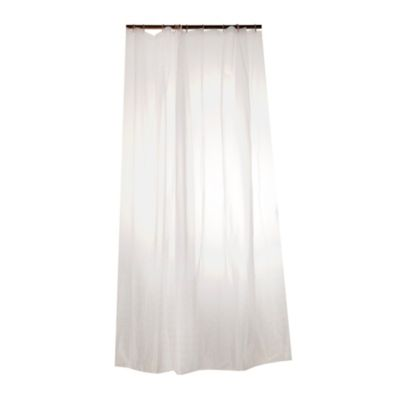 Cortina de baño fondo entero 180 cm x 185 cm 10 ganchos