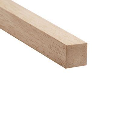 Listón bastidor 3 x 3 cm 2,5 metros cedro blanco