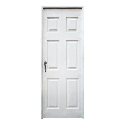 Puerta 0.90x2.10 Mts. Blanca Galv 6 Paneles - Ap. Der Cal 20