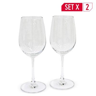 Copas madison vino tinto x 2 unidades 425 ml