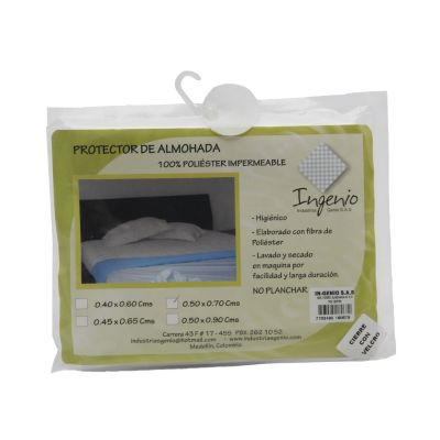 Forro para almohada poliéster 50 x 70 cm