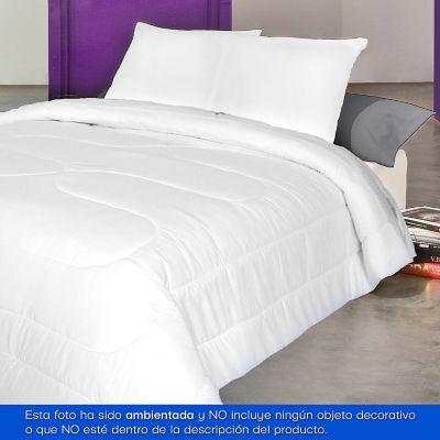 Cobija Plumón Plus Extradoble 220x230 cm Blanca