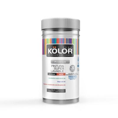Pintura para Interior Blanco Súper Lavable 1/32 Galón