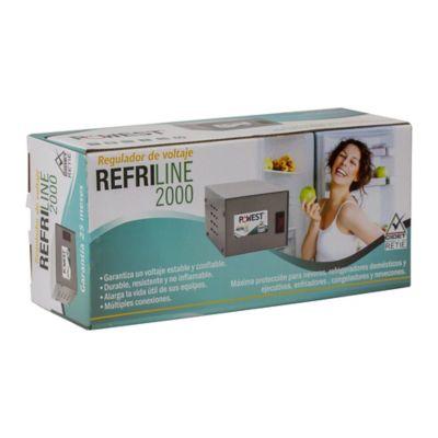 Regulador 2000Va-1200W 2 Salidas Refrigerador