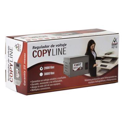 Regulador 3000Va-1800W 4 Salidas Fotocopiadora