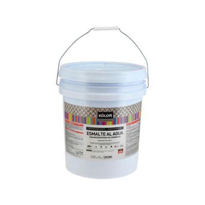 Pintura para Interior Impermeable Hidrofuga 1 Galón Blanco