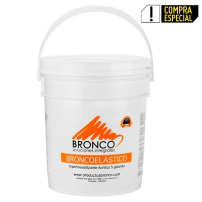 Broncoelástico Gris 24kg 5gl
