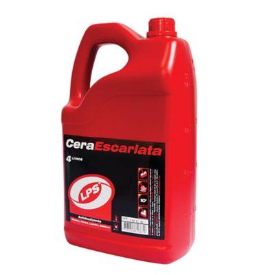 Cera Para Pisos Escarlata 4.000 ml
