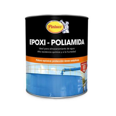 Pintura Azul Epóxica Poliamida 1 Galón