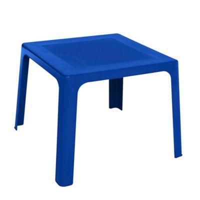 Mesa Plástica Pequeña Azul