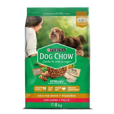 Dog Chow adulto de raza pequeña x 8 kilos